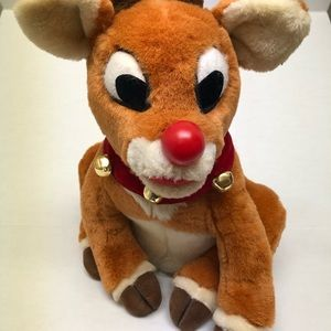 Rudolph The Red Nose Reindeer Plush Lights & Sings
